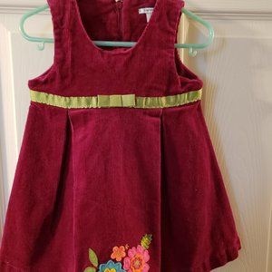 NWT Girls Corded Hartstrings 2PC Dress Set